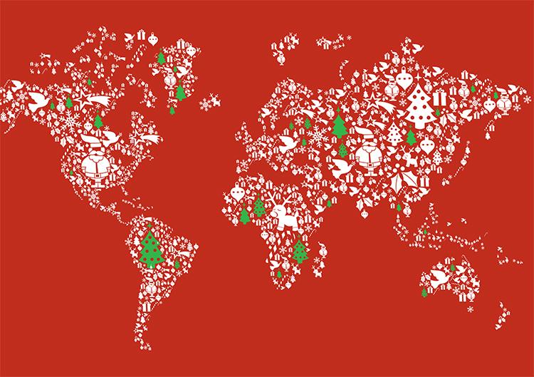 1683 - Christmas World Branded Christmas Card