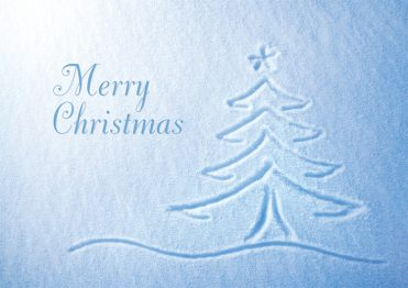 1649 - Snow Drawing Branded Christmas Card